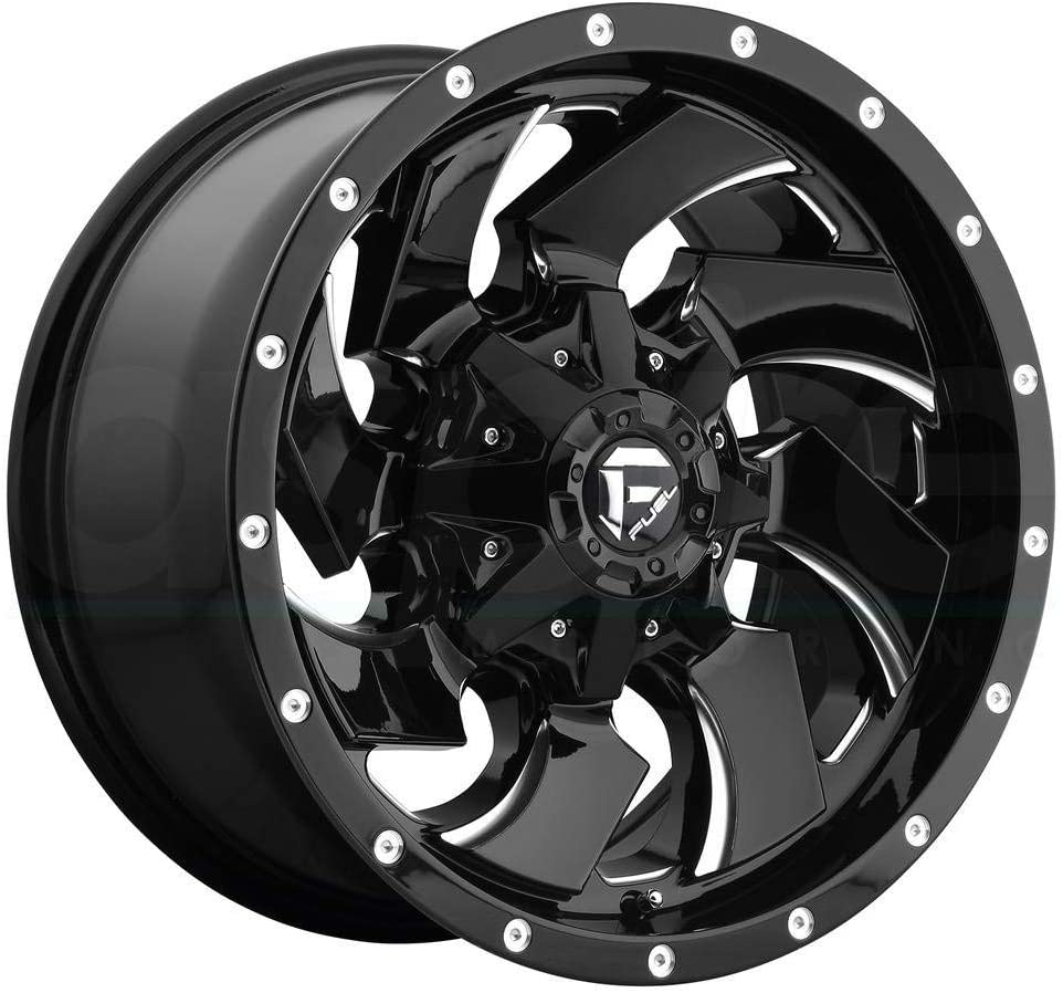 Fuel Offroad D574 CLEAVER BLACK Wheel 17 inches 114 Dallas Mall 5 9. Soldering x m