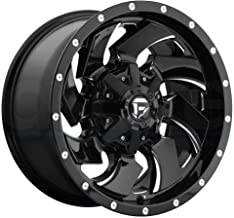 FUEL Cleaver NBL-Gloss BLK MIL Wheel with Painted (18 x 9. inches /6 x 135 mm, 20 mm Offset)