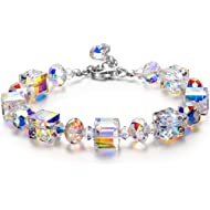 LADY COLOUR Gifts for Women A Little Romanc Bracelets for Women with Swarovski Crystals Jewelry...
