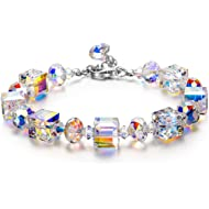 LADY COLOUR ♥ A Little Romance ♥ Sparkling Bracelet for Women with Aurore Boreale Crystals from...