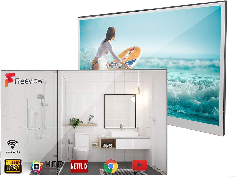 Soulaca Smart Mirror TV de 22 Pulgadas IP66 TV a Prueba de ...