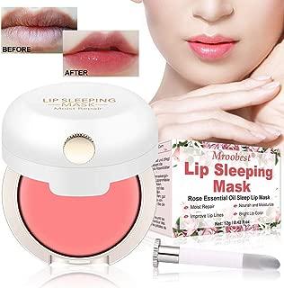 Lip Mask, Lip Sleep Mask, Lip Treatment, Lip Collagen, Overnight Lip Moisturizer for Lip Care, Increase Lip Elasticity, Reduce Fine Lines, Nourishing & Hydrating Lips