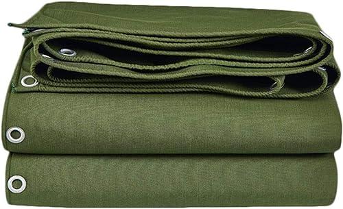 WHS Bache Robuste Polyvalente imperméable, Facile à Manipuler pour la pêche au Camping, serres de randonnée, 700g   m2 (Taille   3x4m)