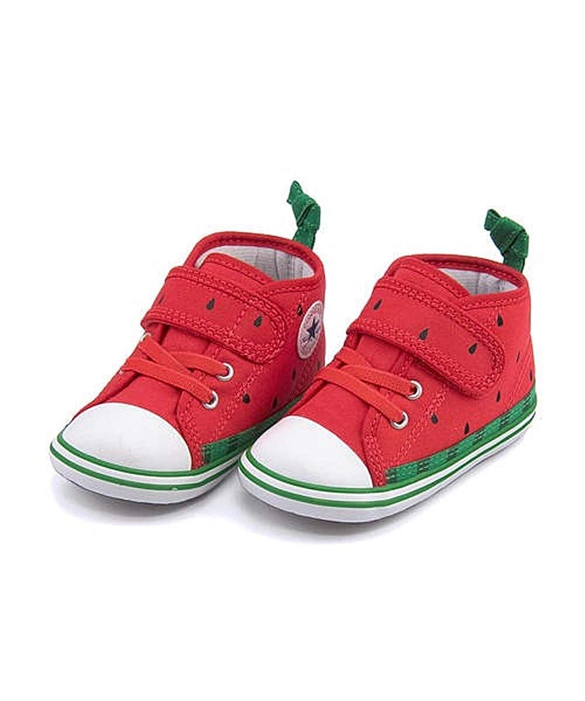 [コンバース] 女の子 キッズ 子供靴 運動靴 通学靴 ベビーシューズ スニーカー ベビーオールスターNフルーツV1 軽量 クッション性 屈曲性 カジュアル デイリー スポーツ スクール 学校 BABY ALL STAR N FRUITS V-1 7CL429