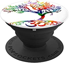 Tree Tie Dye Artist hand drawn tree of life, Om symbol - PopSockets Grip and Stand for Phones and Tablets