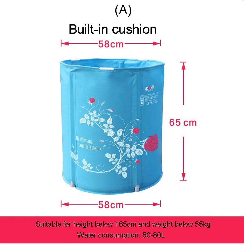 YYF Folding tub, household bath tub, adult free inflatable bathtub, thickening bath tub (Size   A)