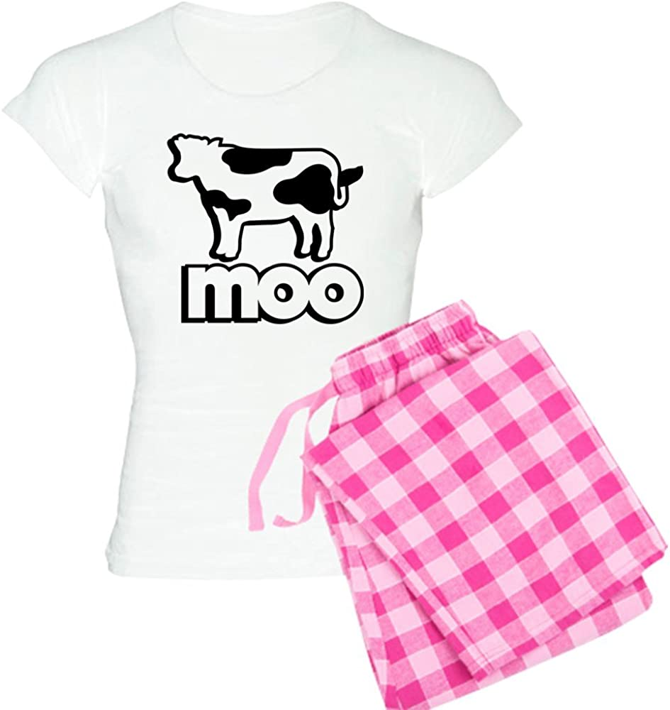 CafePress Cow Moo Women's All items free shipping PJs Special Campaign