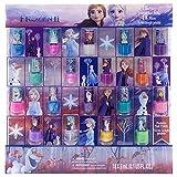 Disney Juego De Esmalte De Uñas Pelable No Tóxico Congelado Para Niñas, Colores Brillantes Y Opacos, Edades 3+ - Paquete De 18  Disney Congelado 0.17 Fl Oz (Paquete De 18)