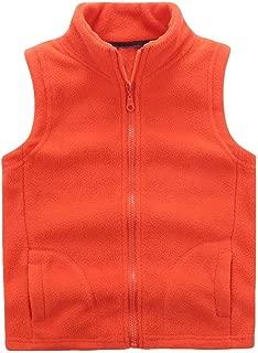 Boys' Warm Zipper Fleece Vest