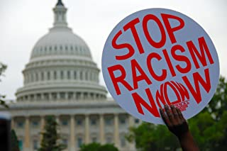 racism protest signs