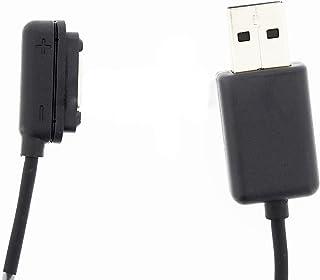 【買物隊】 SONY Xperia Z Ultra / Z1 / Z1 f (Z1 s) 用 USBマグネットチャージケーブル(黒)