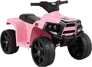 BWM.Co 6V Kids Dirt Bike Ride On Quad ATV Bicycle Battery Powered Electric Vehicle Pink