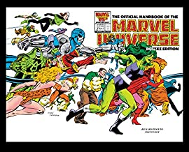 Official Handbook Of The Marvel Universe: Deluxe Edition Omnibus HC