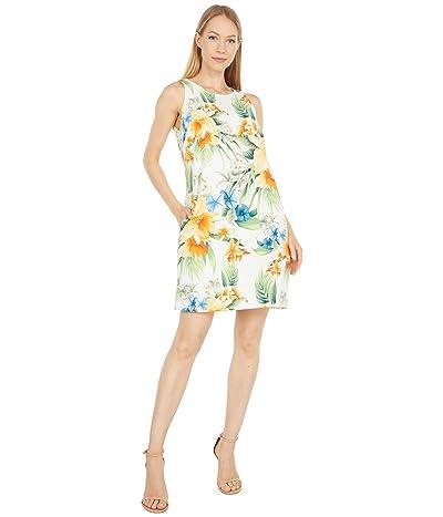 Tommy Bahama Fleur De Lite Shift Dress Sleeveless