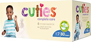 Cuties Complete Care Baby Diapers,  Size 7,  80 Count