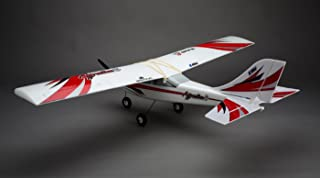 E-flite Apprentice S 15E RC Airplane Rtf with Safe Technology | DXe Radio Tx | Safe RX | 30A Bec Brushless ESC | 3S 3200mAh 20C Lipo Battery | DC Charger