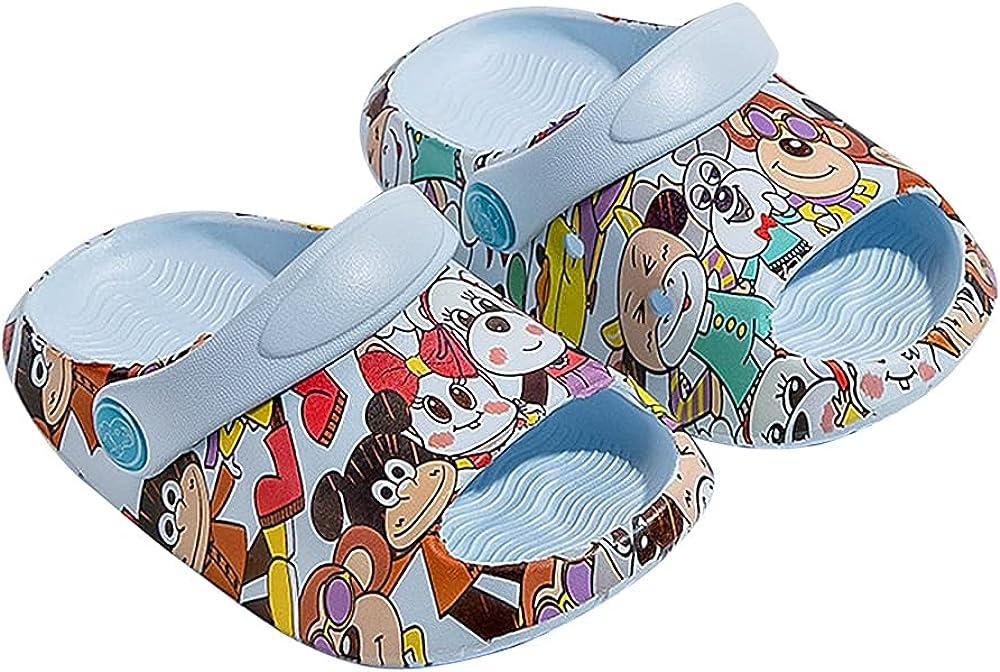 DECORTOP Cartoon Very popular! Kids Boys Girls Garden Shoes Beach Shark Summer Low price