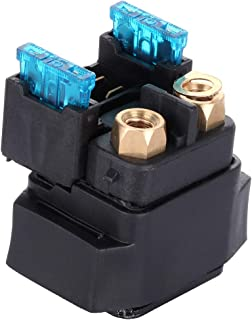 SCITOO Starter Relay Solenoid Compatible for Yamaha ATV Yamaha YFM 350/400/450/660 Grizzly Kodiak Raptor Wolverine Big Bear R 2009 2010 2011 2012 2013 2014 2015 2016 4SV-81940-00-00