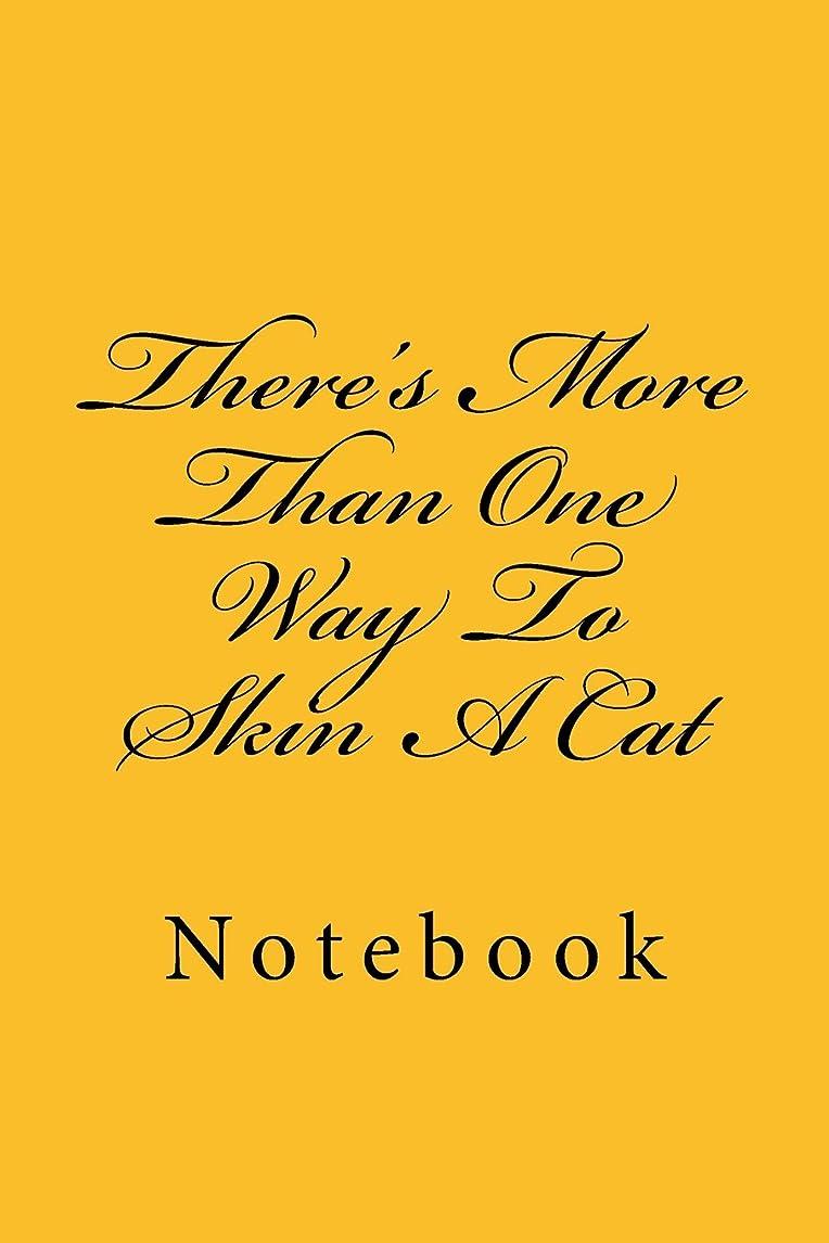頑丈朝原油There's More Than One Way To Skin A Cat: Notebook
