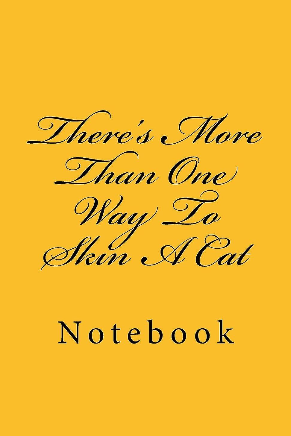 反毒寺院追加There's More Than One Way To Skin A Cat: Notebook