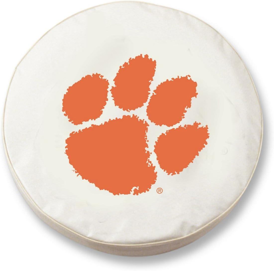 Holland Bar Stool Co. Clemson Tigers HBS Vinyl Spar Denver Mall White Fitted Brand new