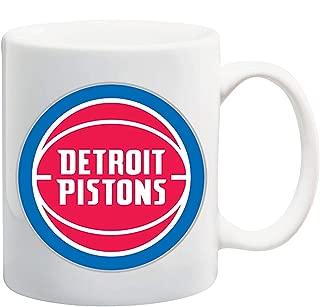 Manglam Mart Detroit Piston Logo White Tea Coffee Mug Ceramic Coffee Tea Cup