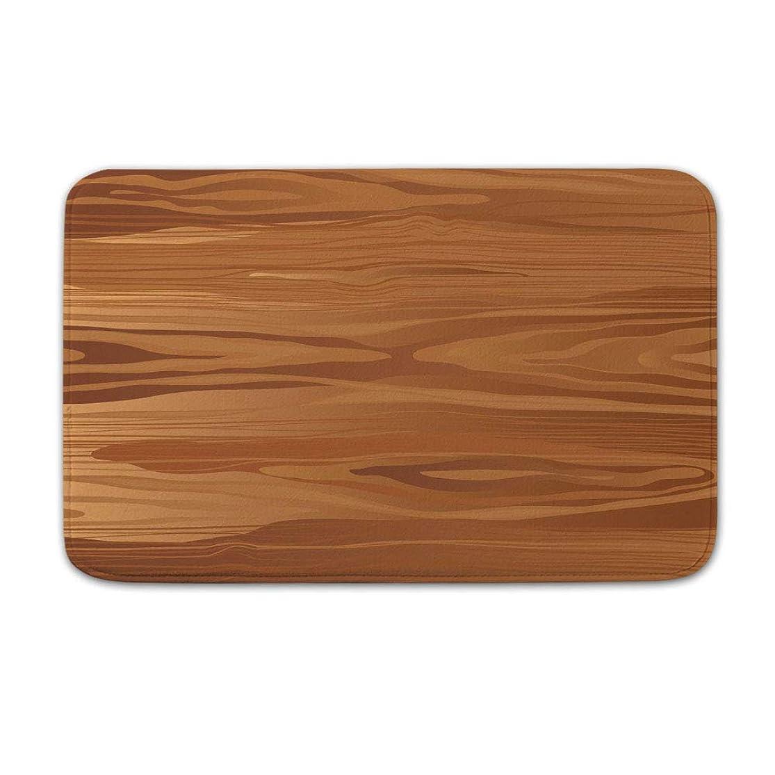 DKISEE Indoor Outdoor Entrance Rug Floor Mat Bathmat Woodgrain Doormat, 20