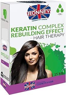 Ronney Keratin Complex Rebuilding Effect Hair Oil 15 ml