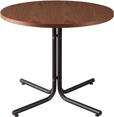 東谷(Azumaya-kk) カフェテーブル W80xD80xH67 ブラウン ダリオ END-225TBR