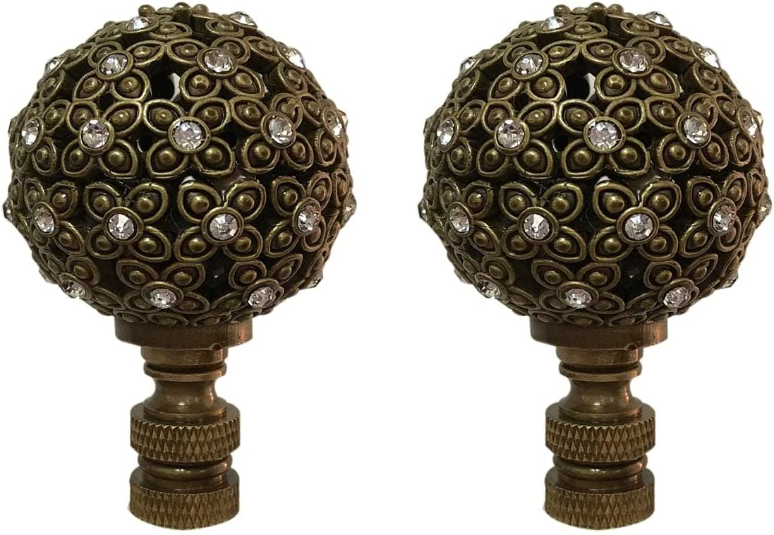Overstock Royal Designs Floral Motif Popular brand supreme Sphere Crystal Accents with