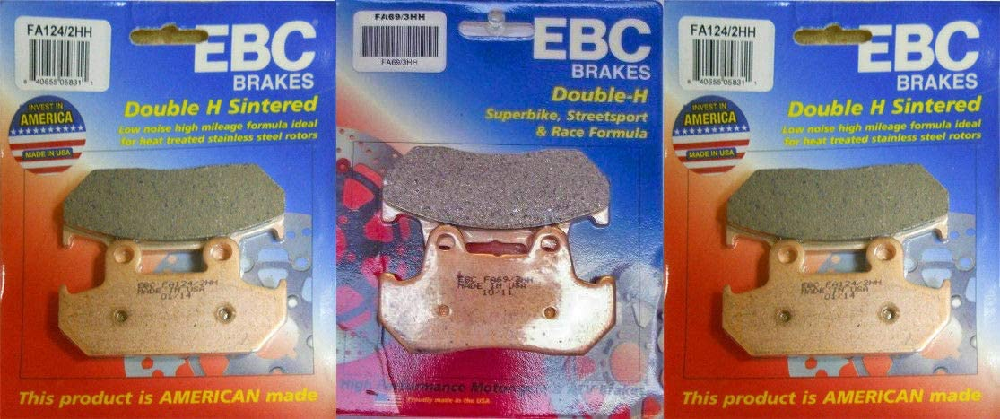 EBC New product!! HH Front Rear Brake Pads GL150 Honda Set with - Compatible Sale SALE% OFF