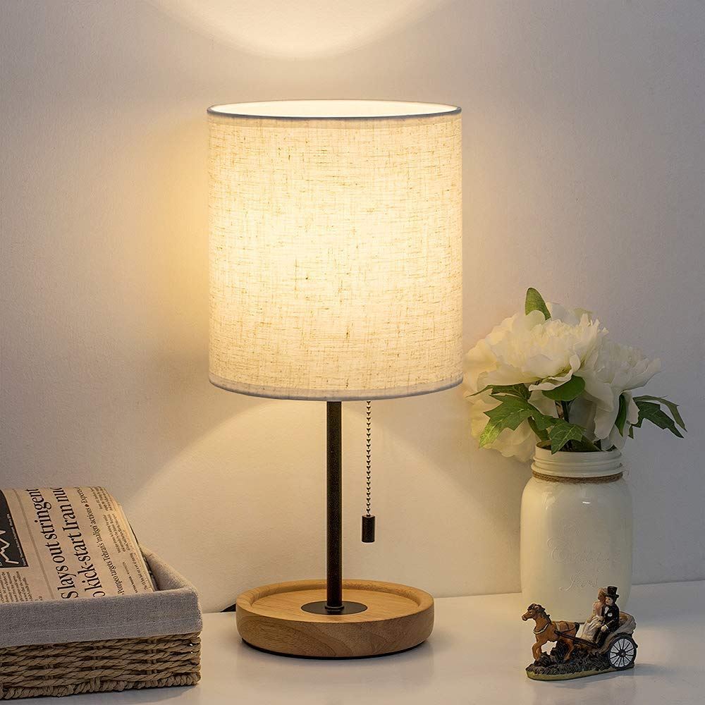 HAITRAL Night Stand Table Lamps