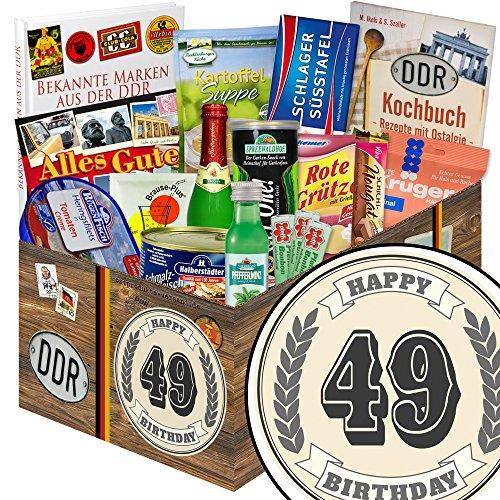 ausgefallene Zum 49. Geburtstag + Ostprodukte + Geschenk zum 49.