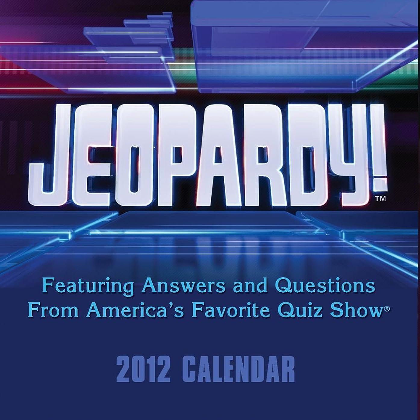第九三クラッチJeopardy!: 2012 Day-to-Day Calendar
