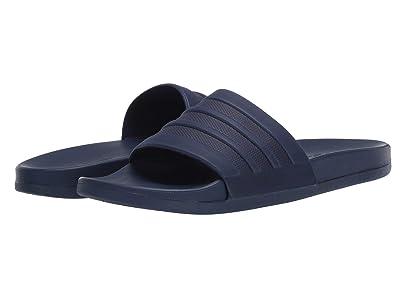 adidas Adilette Comfort (Dark Blue/Dark Blue/Dark Blue) Men