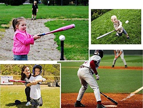 "btc 34"" Aluminium Baseball Bat Lightweight Full Size Youth Adult (Black, 32'')"