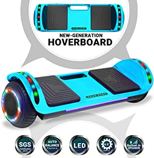 Beston Sports Newest Generation Electric Hoverboard Dual Motors Two Wheels Hoover Board..