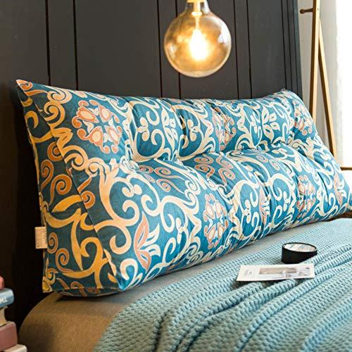 F-LFJBK groot driehoekig wigkussen, bed sofa back mat tatami lumbale kussen, dikke kop, gestoffeerde meubels cord decoratief kussen
