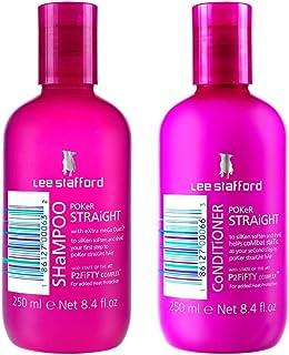 Lee Stafford Poker Straight Shampoo & Conditioner Duo 2 x 250ml by Lee Stafford