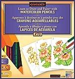 General Pencil Learn Watercolor Pencil Techniques Now Kit