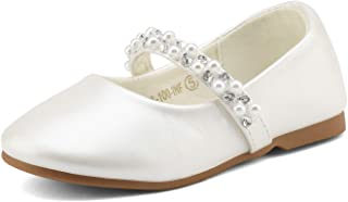 pearl flower girl shoes