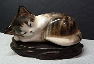 Best bone china cat figurines Reviews