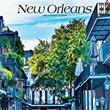 New Orleans 2022 12 x 12 Inch Monthly Square Wall Calendar, USA United States of America Louisiana Southeast City