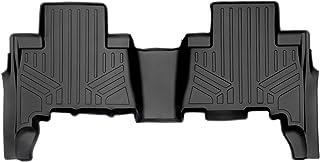 SMARTLINER Custom Fit Floor Mats 2nd Row Liner Black for 2010-2021 Toyota 4Runner / 2010-2021 Lexus GX460