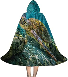 Halloween Costumes Hippie Car Hooded Witch Wizard Cloak for Womens Mens Kids