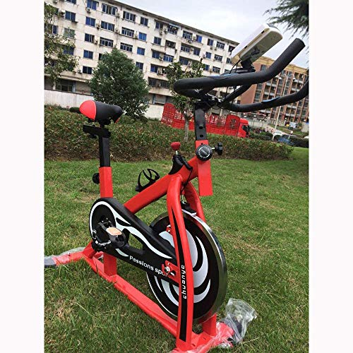 YIQIFEI New Spinning Bike Ultra Quiet Haushalt Magnetic Heimtrainer Fitnessgeräte Fitness Pedal Heimtrainer Adjustable Indoor Cycling Bike Trainer, Stationär