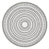 YWJFASHION Alfombra Alfombras De Área Circular Simplicidad Moderna Alfombrilla Suave, para Sala De Estar, Dormitorio, Decoración del Hogar (Color : Light Tan, Size : 120cm)