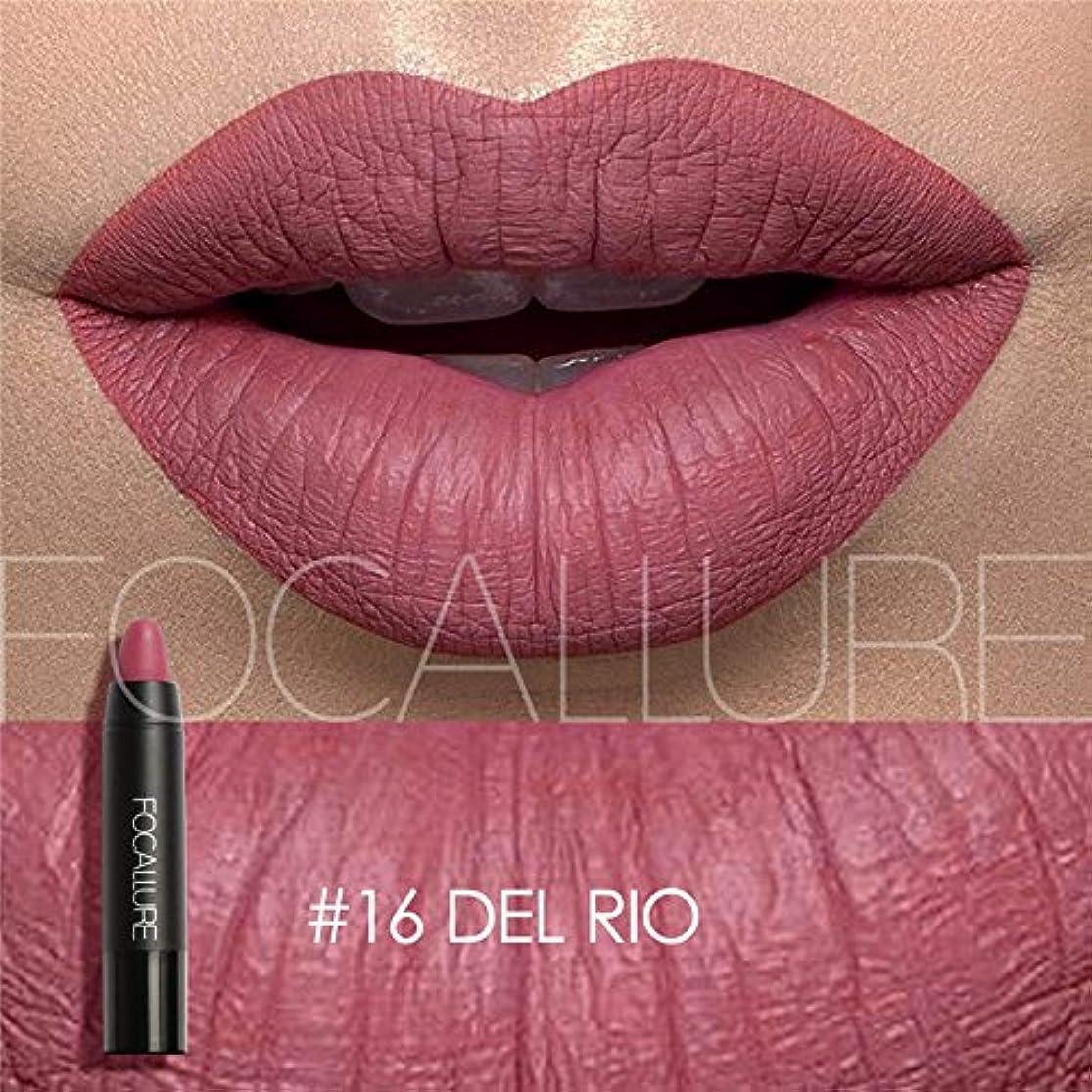 クリーク今日シャーロットブロンテGederq - 女性のファッション唇のメイクアップ色のリップスティックハイグロスリップカラーリップクレヨンリップティント12色のオプション [16]