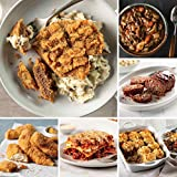 4 (4.5 oz.) Chicken Fried Steaks | 1 (3 lbs. pkg.) Italian Chicken Fingers 1 (30 oz. pkg.) Meat Lover's Lasagna | 1 (30 oz. pkg.) Beef Shepherd's Pie 1 (20 oz.) Homestyle Meatloaf | 1 (48 oz.) Slow Cooker Meal: Beef Bourguignon 1 (52 oz.) Slow Cooker...