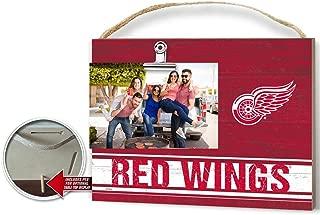 KH Sports Fan Clip It Colored Logo Photo Frame Detroit Red Wings